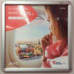 Lennukompanii ajas Joškar-Ola ja Moskva linnavaated segamini