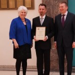 Eesti-Läti keeleauhinna sai TÜ teadur Valts Ernštreits