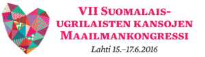 VII Soome-ugri Maaimakongressi logo