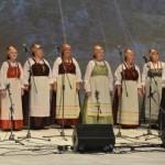 Folklooriansambel Kataja soome-ugri kultuuripealinnast 2017 Vuokkiniemist.