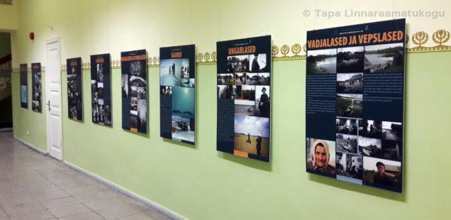 näitus ripub seintel