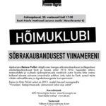 Hõimuklubi sõbrakaubandusest Soome lahel