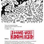Soome-ugri koomiksite näitus Tartu Linnaraamatukogus
