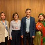 Noored soome-ugri aktivistid tegid ÜRO-le põliskeelte säilitamise osas ettepanekuid