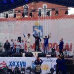 TÜ Rahvakunstiansambel käis Marimaal linna päeva tähistamas