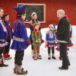 Soome president Niinistö külastas Lapimaad