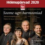 """""""Soome-ugri harmooniad"""" pakub ainukordset klassikat ja lõpetab seekordsed Hõimupäevad"""