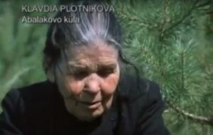 viimane kamass, Kalvdija Plotnikova