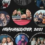Muusikutele pühendatud Hõimukalender 2021 on ilmunud