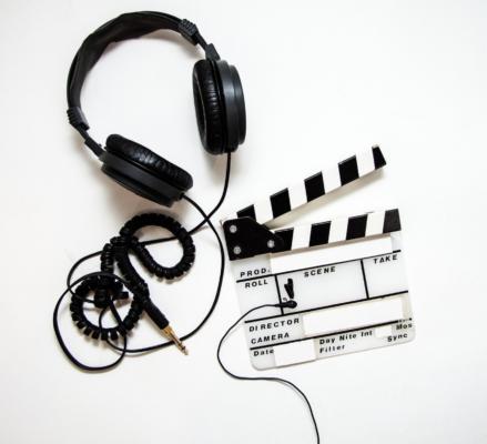 kõrvaklapid, filmivõtt