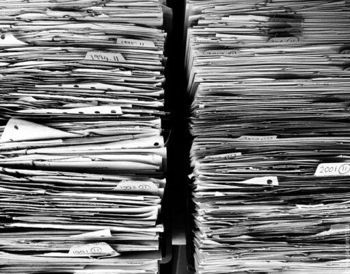 arhiiv, dokumendid, paberivirnad
