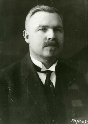 Aleksander Veiderma portree
