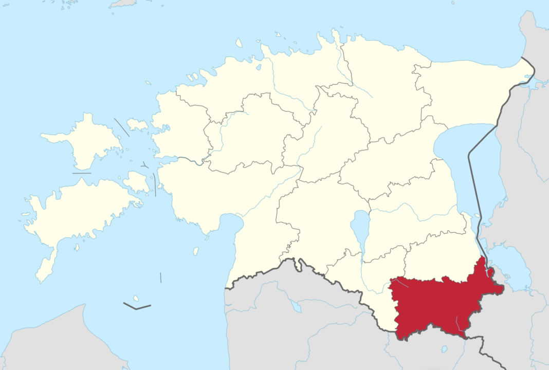 võrumaa asukoht kaardil