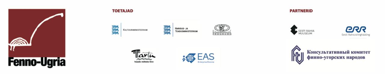 korraldaja, toetajate ja partnerite logod
