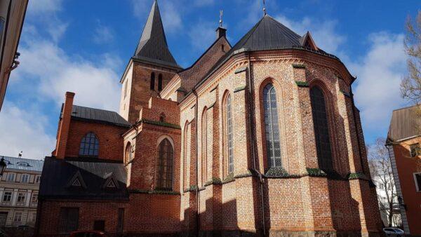 Tartu Jaani kiriku välisvaade