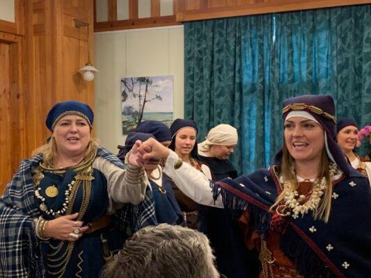 Läti folklooriansambel Skandinieki