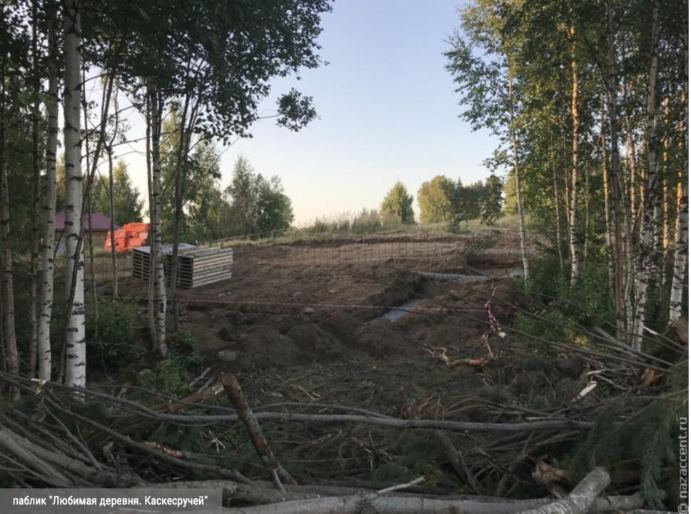 nazaccent.ru_Äänisjärve puhkemaja ehitusplats