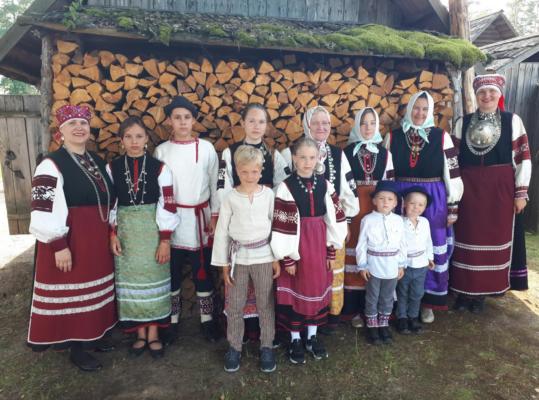 Seto laste kool teisel seto tantsupeol Foto: Kristjan Juhani